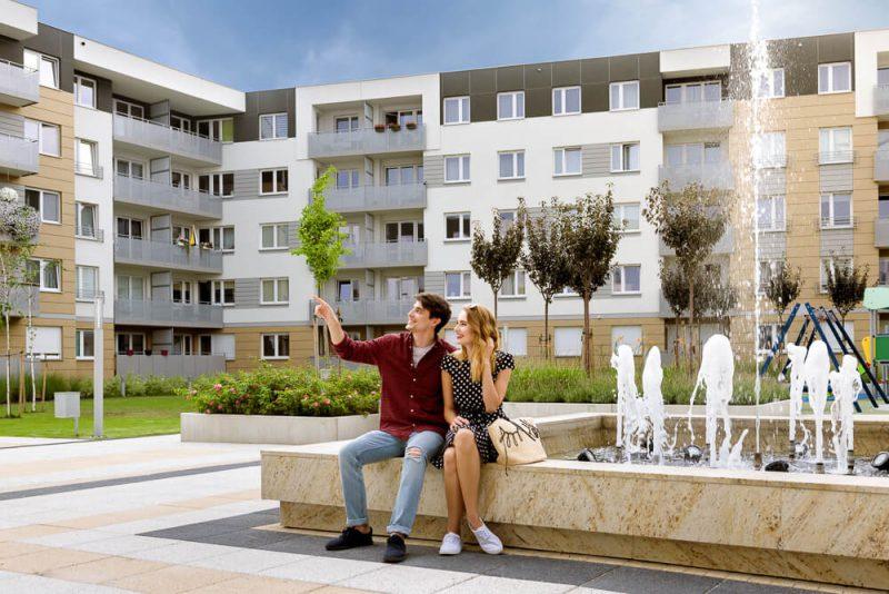 mieszkania w dzielnicy Krzyki